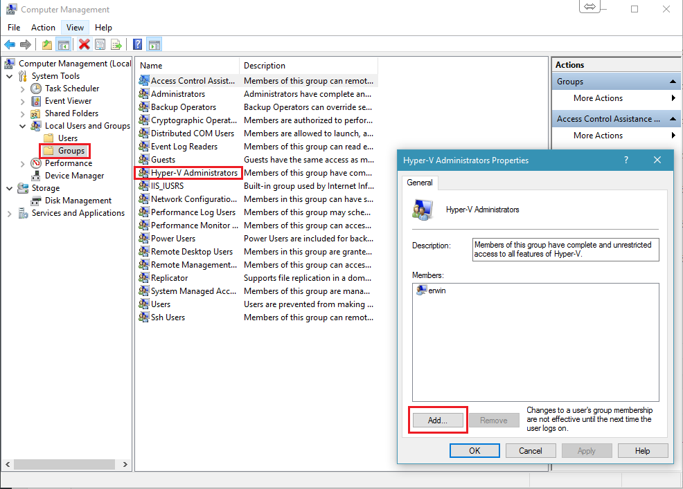 RDCMan to Hyper-V console-Sharing Knowledge | Erwin Bierens Blog
