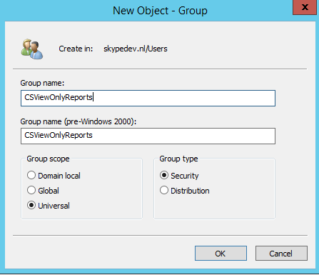 Active Directory Security Group
