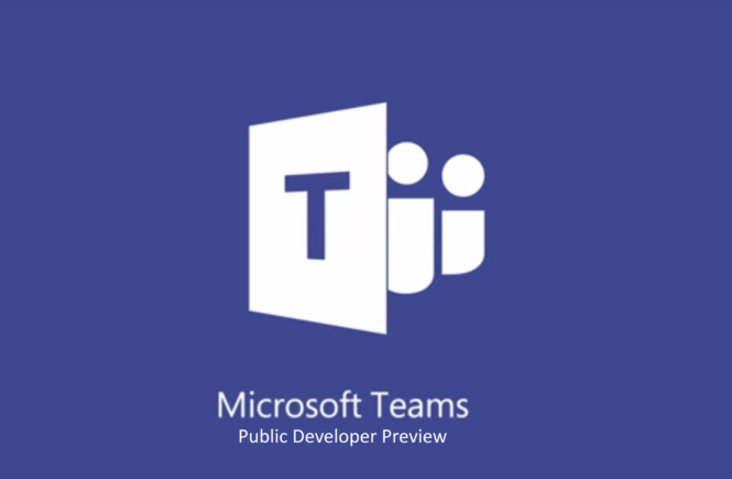 Microsoft Teams Public Developer Preview